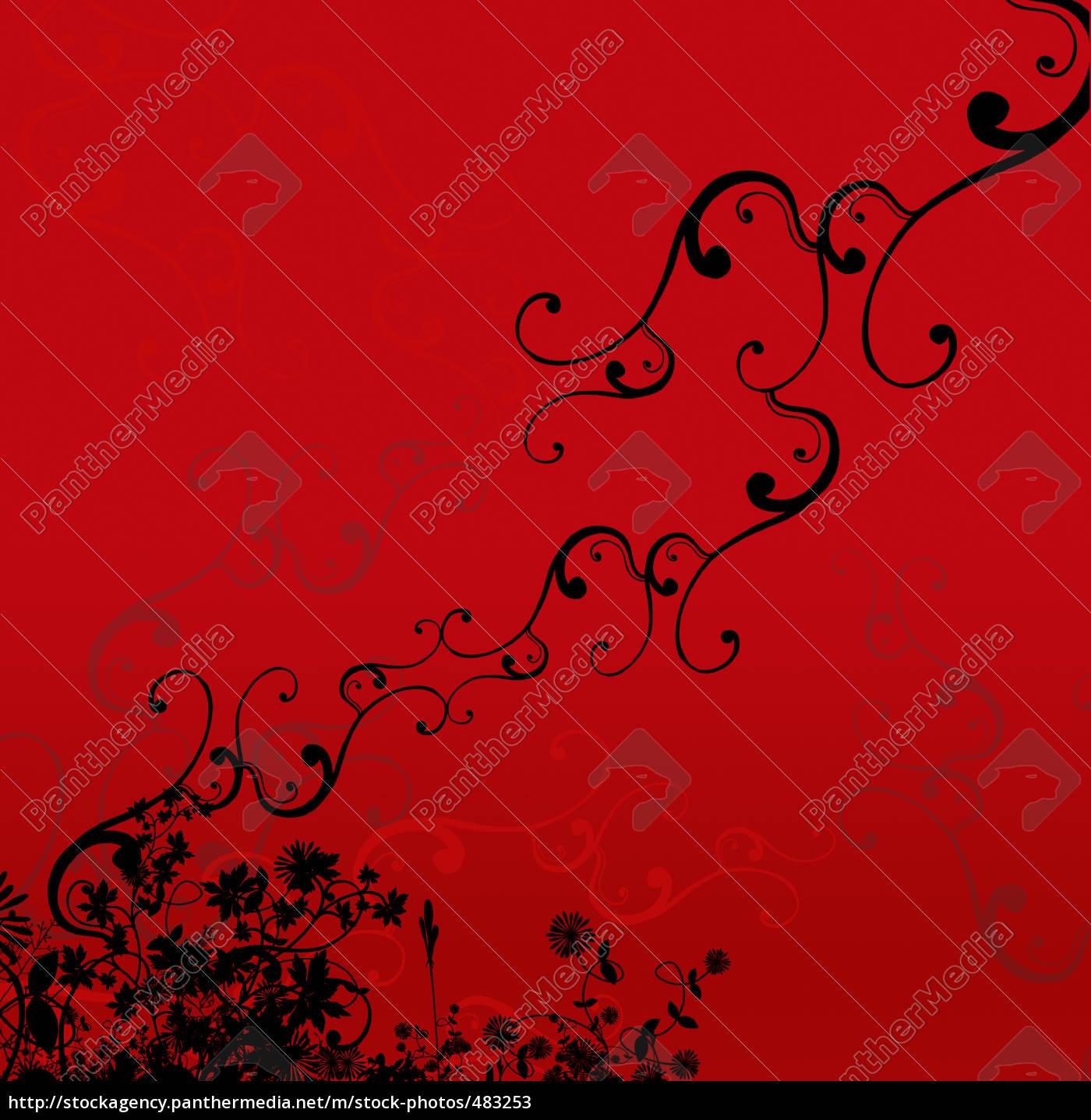 floral, ornaments - 483253