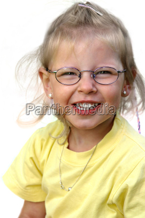 cheerful, girl, cut - 486846