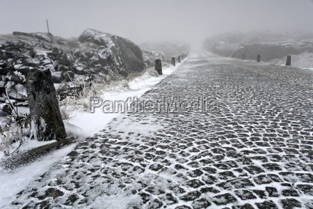 first snow on the gotthard pass