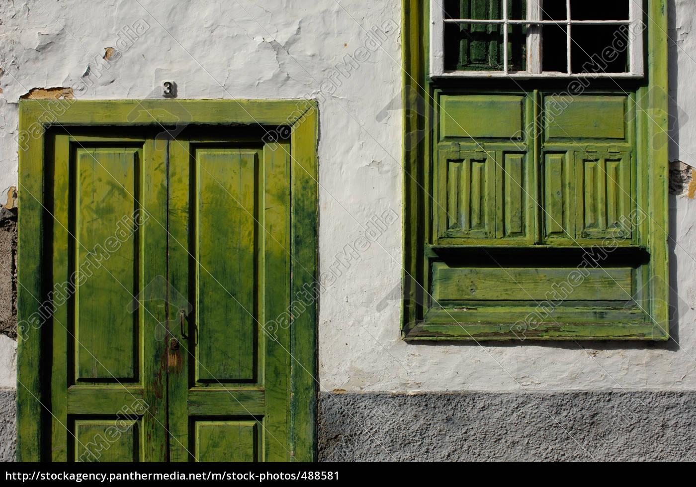 house, facade, in, tenerife - 488581