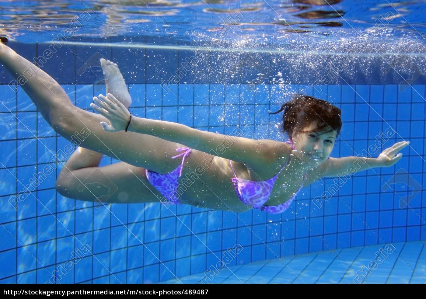 diving, woman - 489487