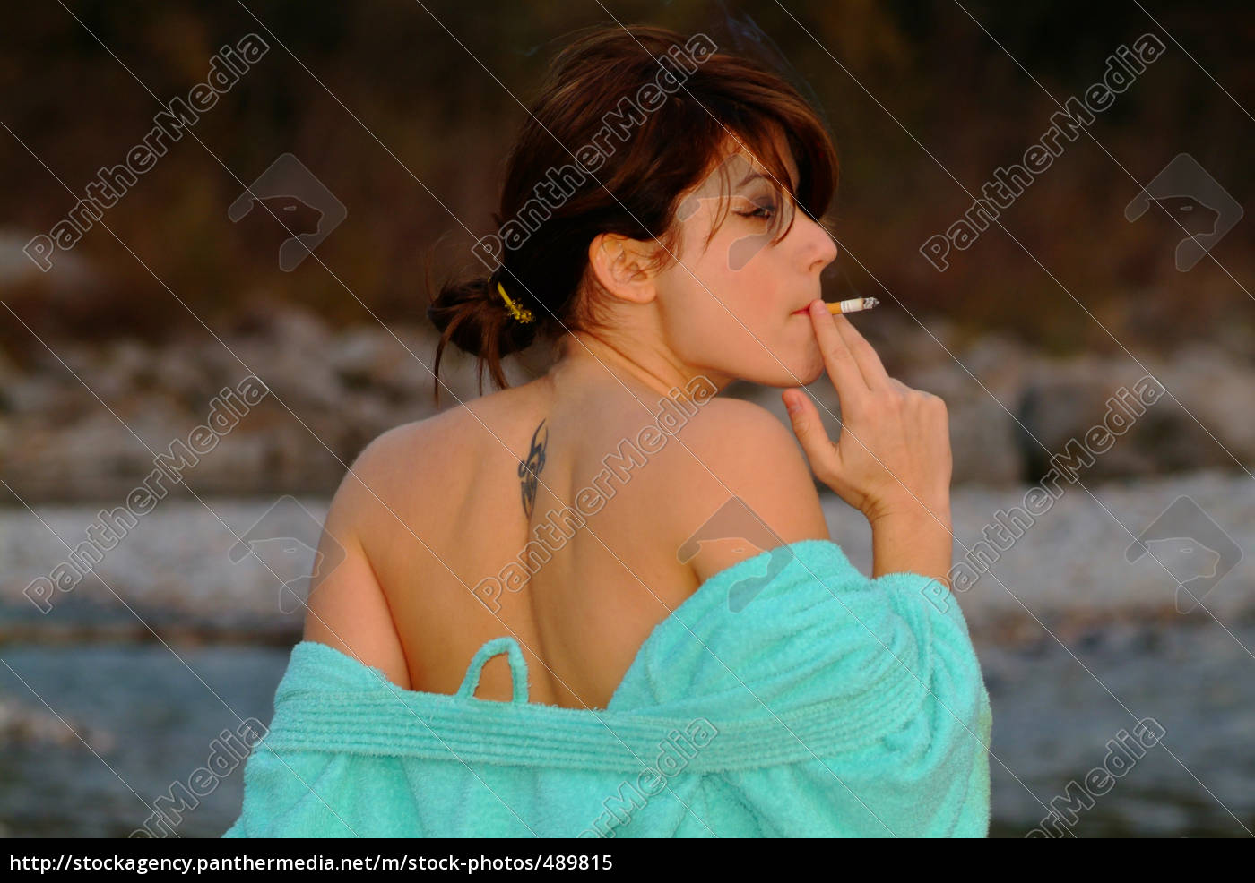 smoking, woman - 489815
