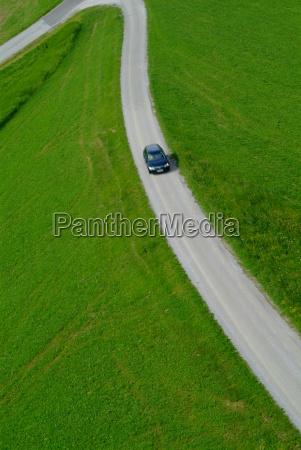 landstrasse, curve - 490454