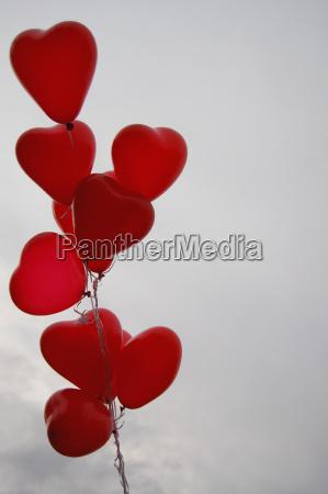 balloons, en, rouge - 492941