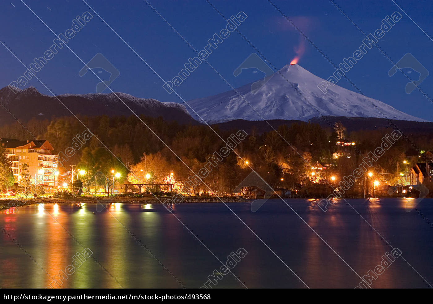 pucon, at, night - 493568