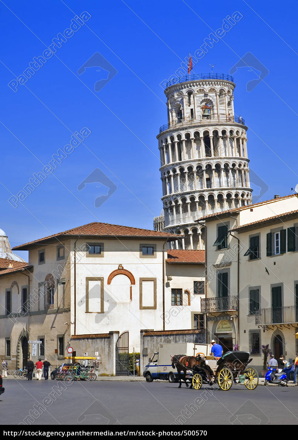 pisa, -, leaning, tower - 500570
