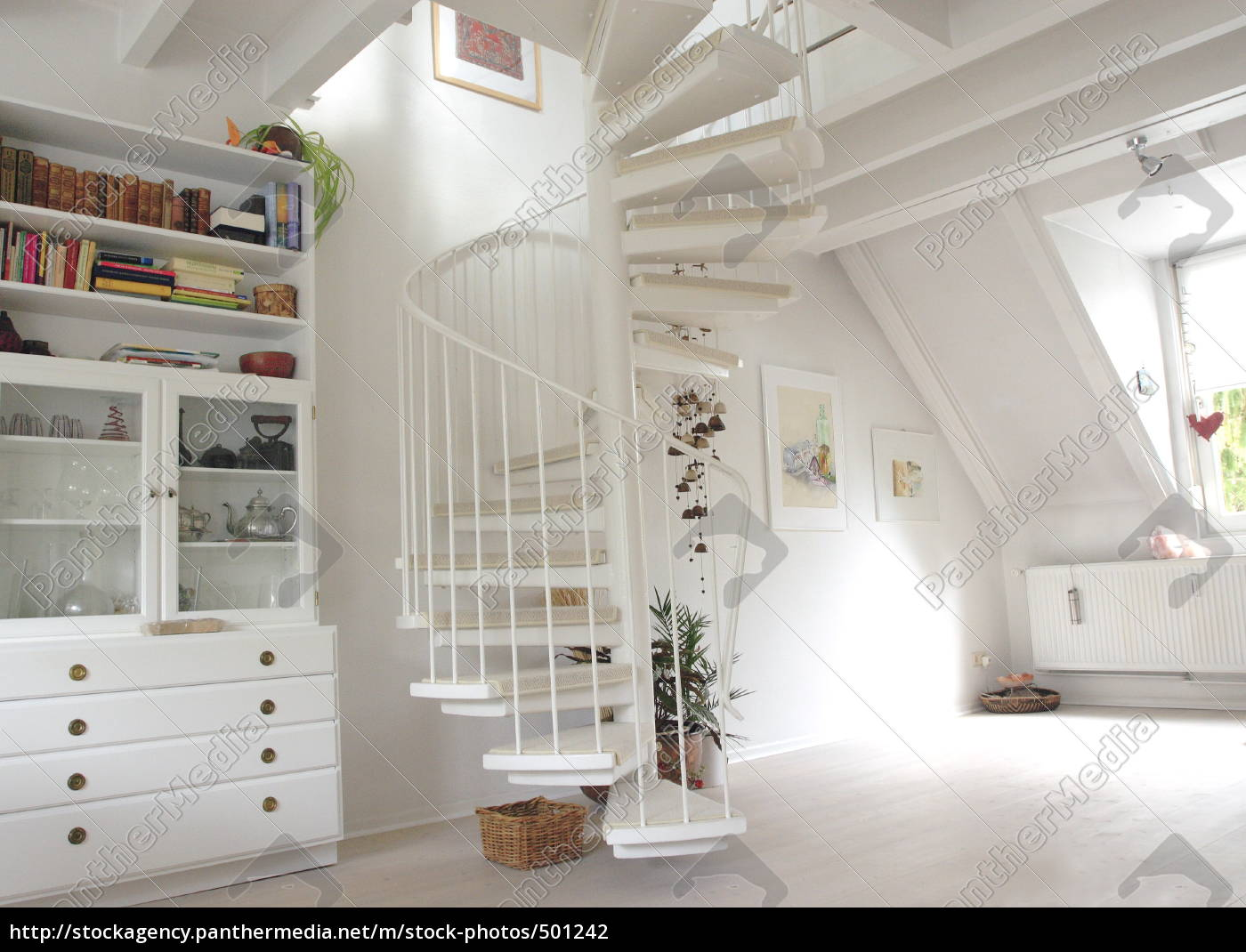 gallery, apartment, in, white - 501242