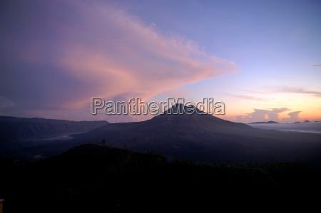 bali gunung batur antes do sol