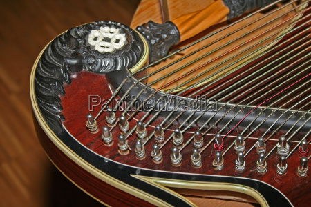 zither, detail - 506758
