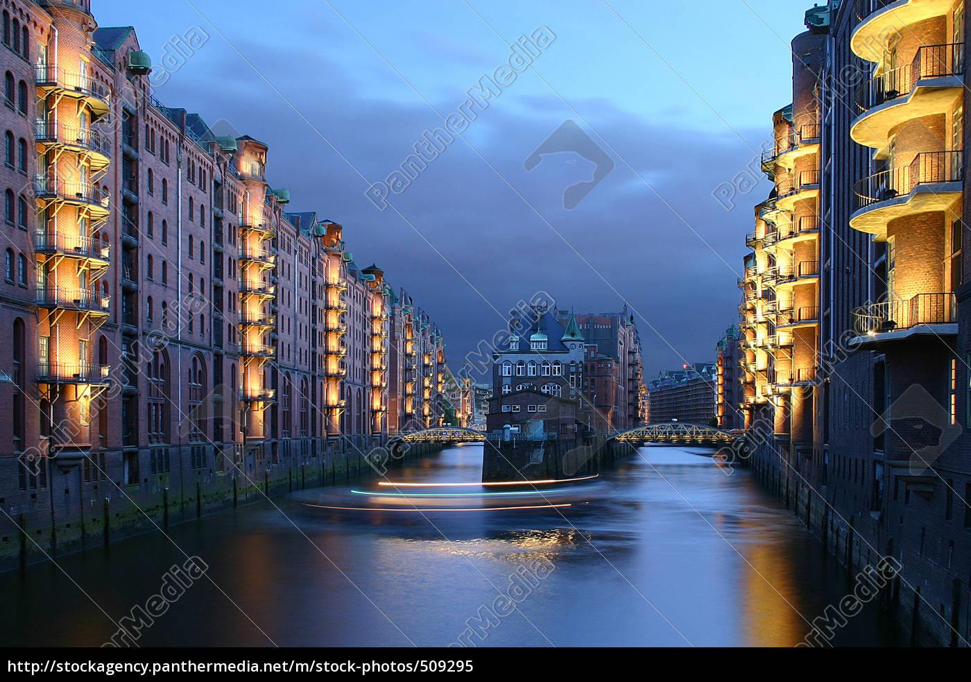 hamburg, speicherstadt - 509295