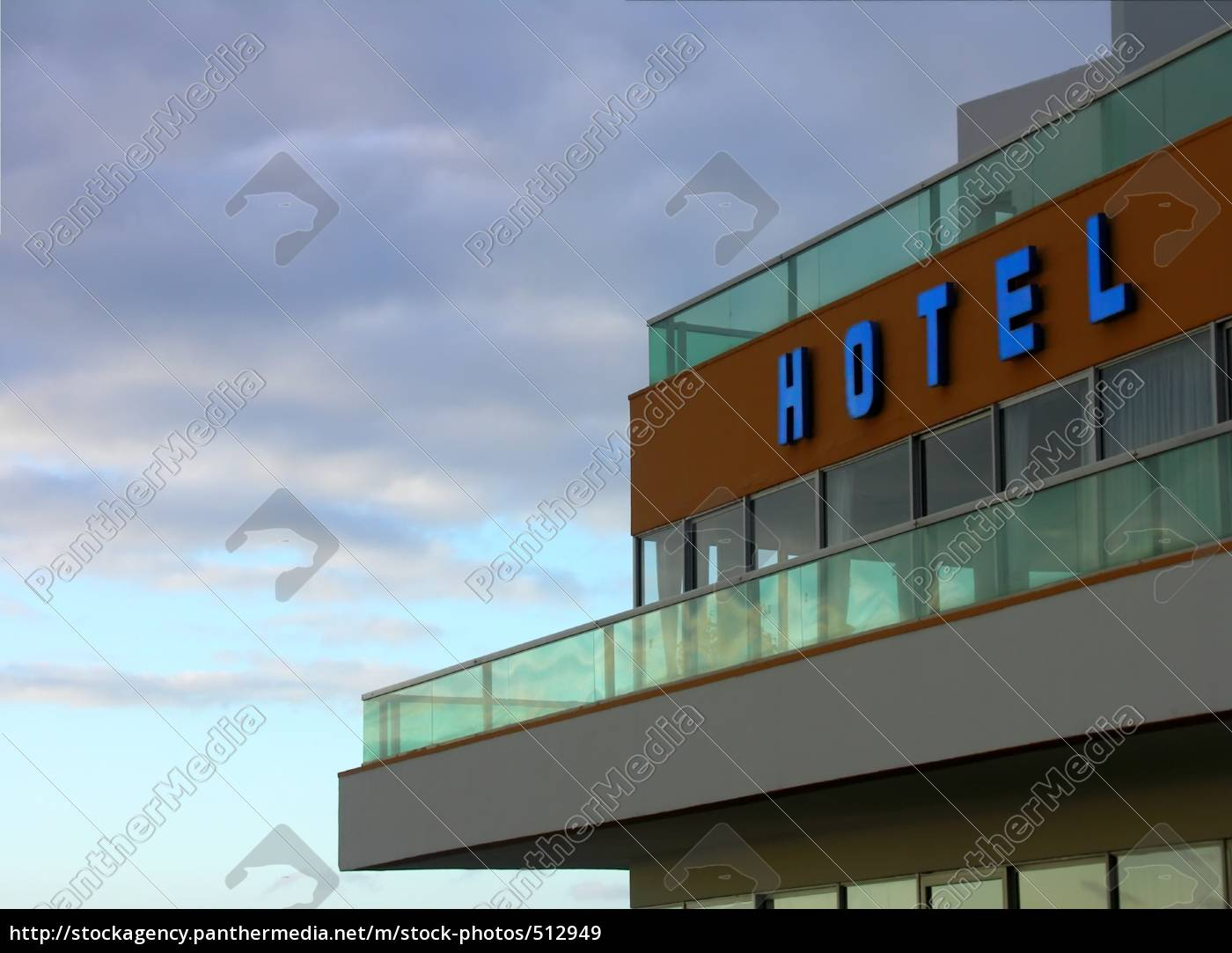 blue, hotel - 512949