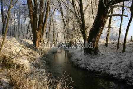 stream, in, winter - 513925