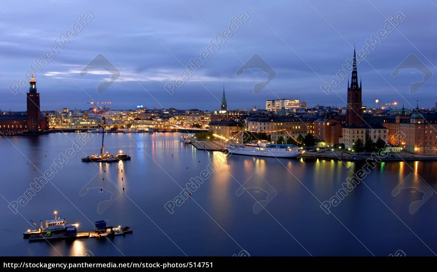 stockholm, by, night - 514751