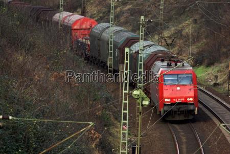 railway locomotive train engine rolling stock