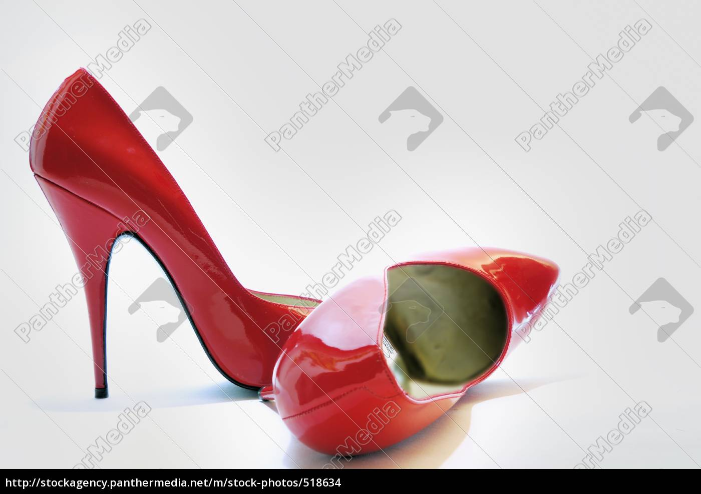 red, high, heels - 518634