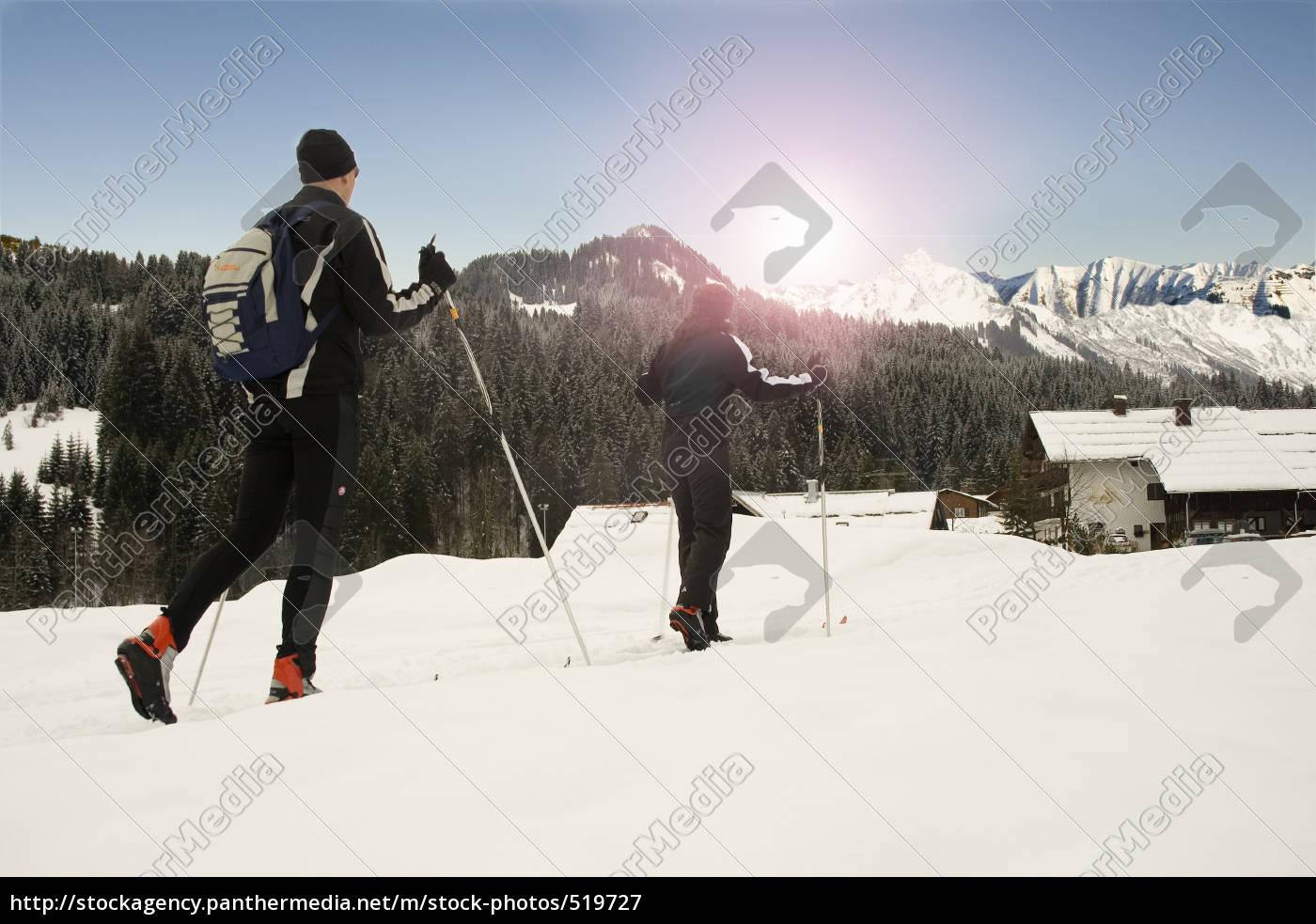 cross-country, skiing - 519727