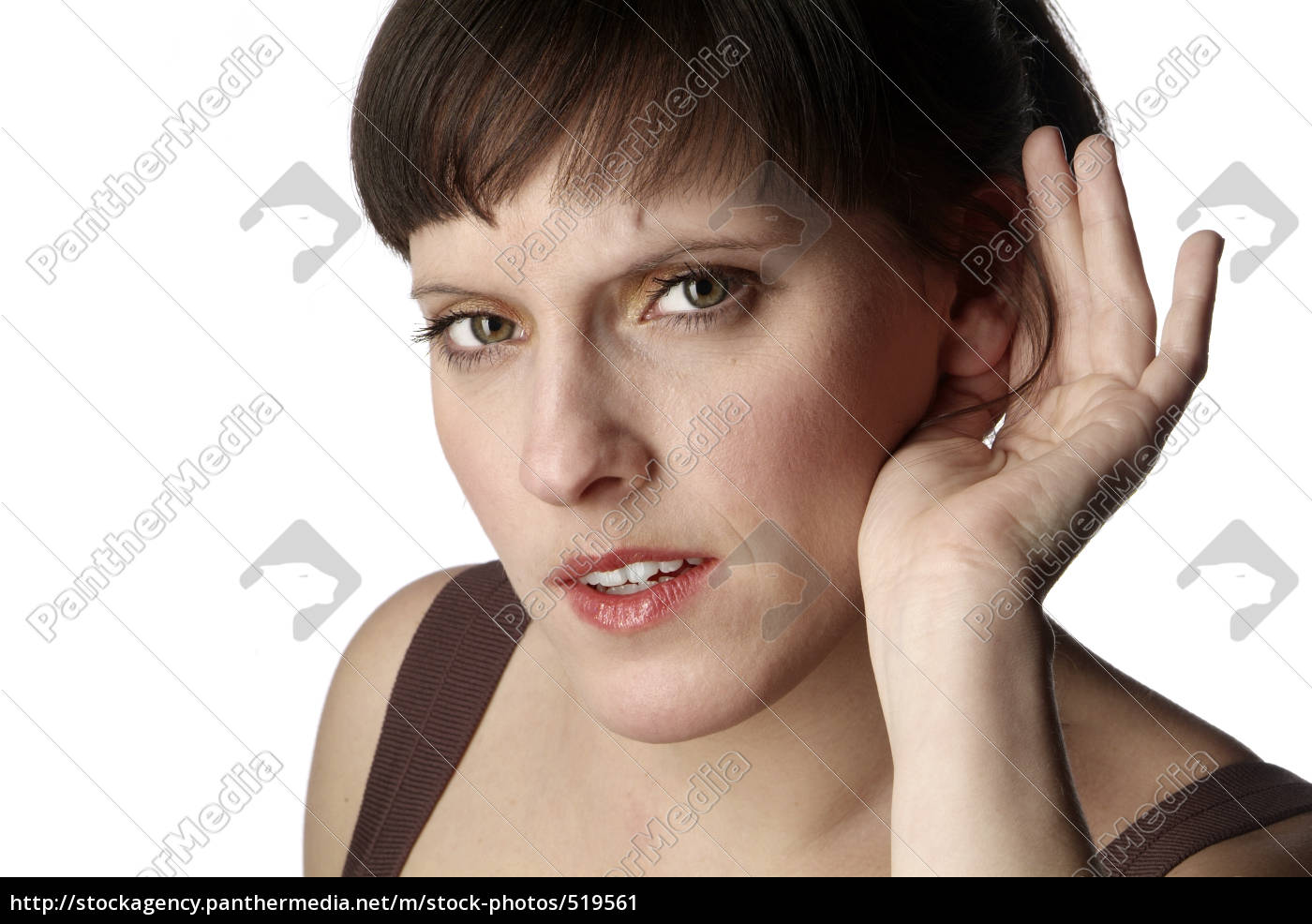 woman, listening - 519561