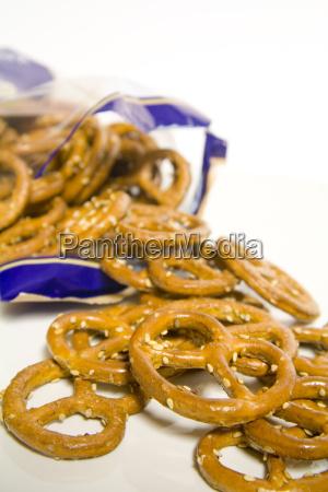 spelled, sesame, pretzels - 521954