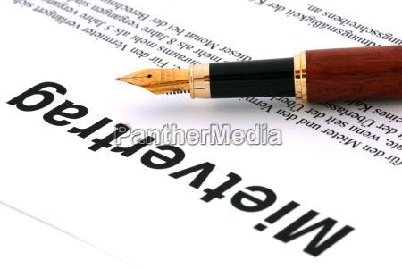 rental, contract - 526428