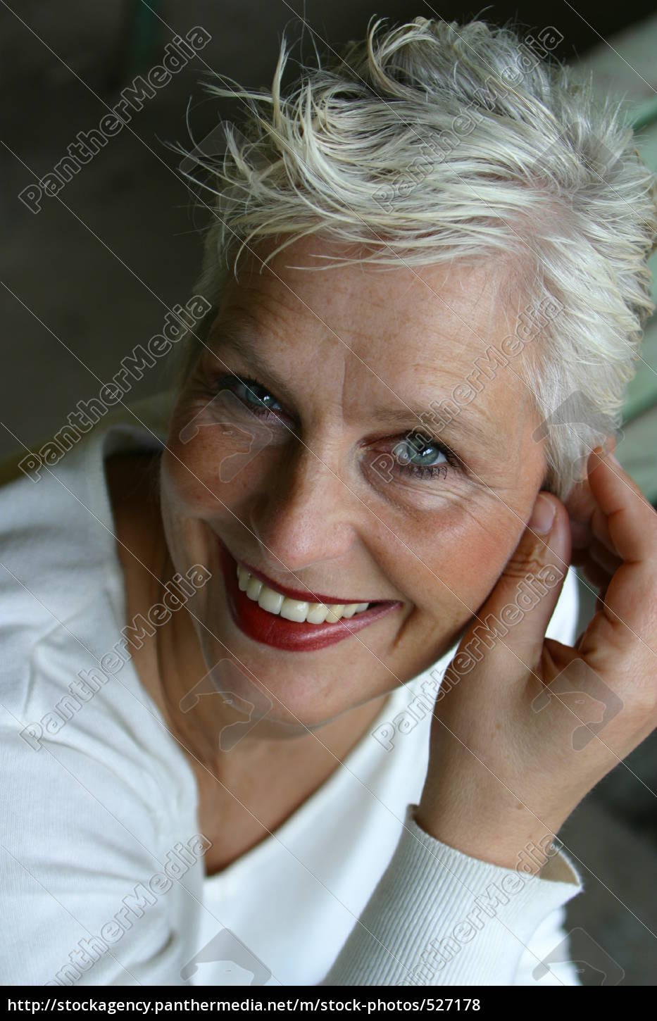 white-haired, woman, of, about, 50 - 527178