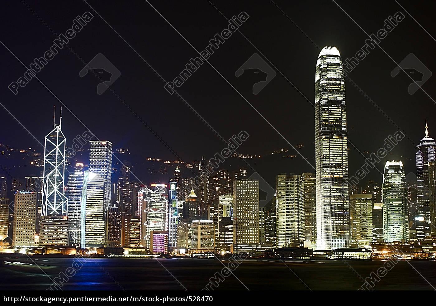 hong, kong, at, night - 528470