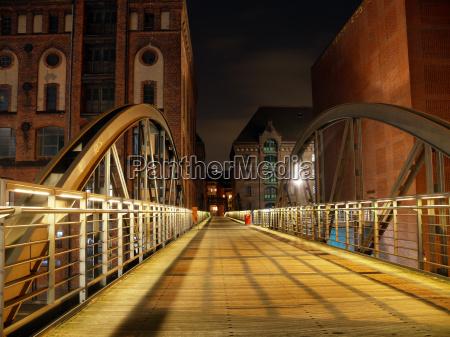 speicherstadt, bridge - 528246