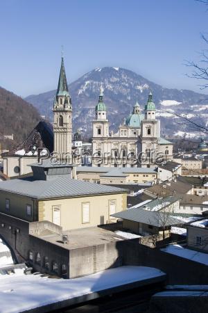 salzburg, towers - 529784