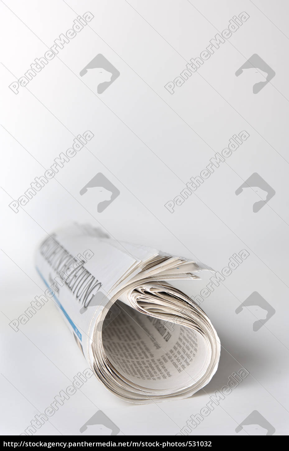 rolled, newspaper - 531032