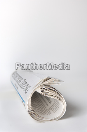 rolled, newspaper - 531032