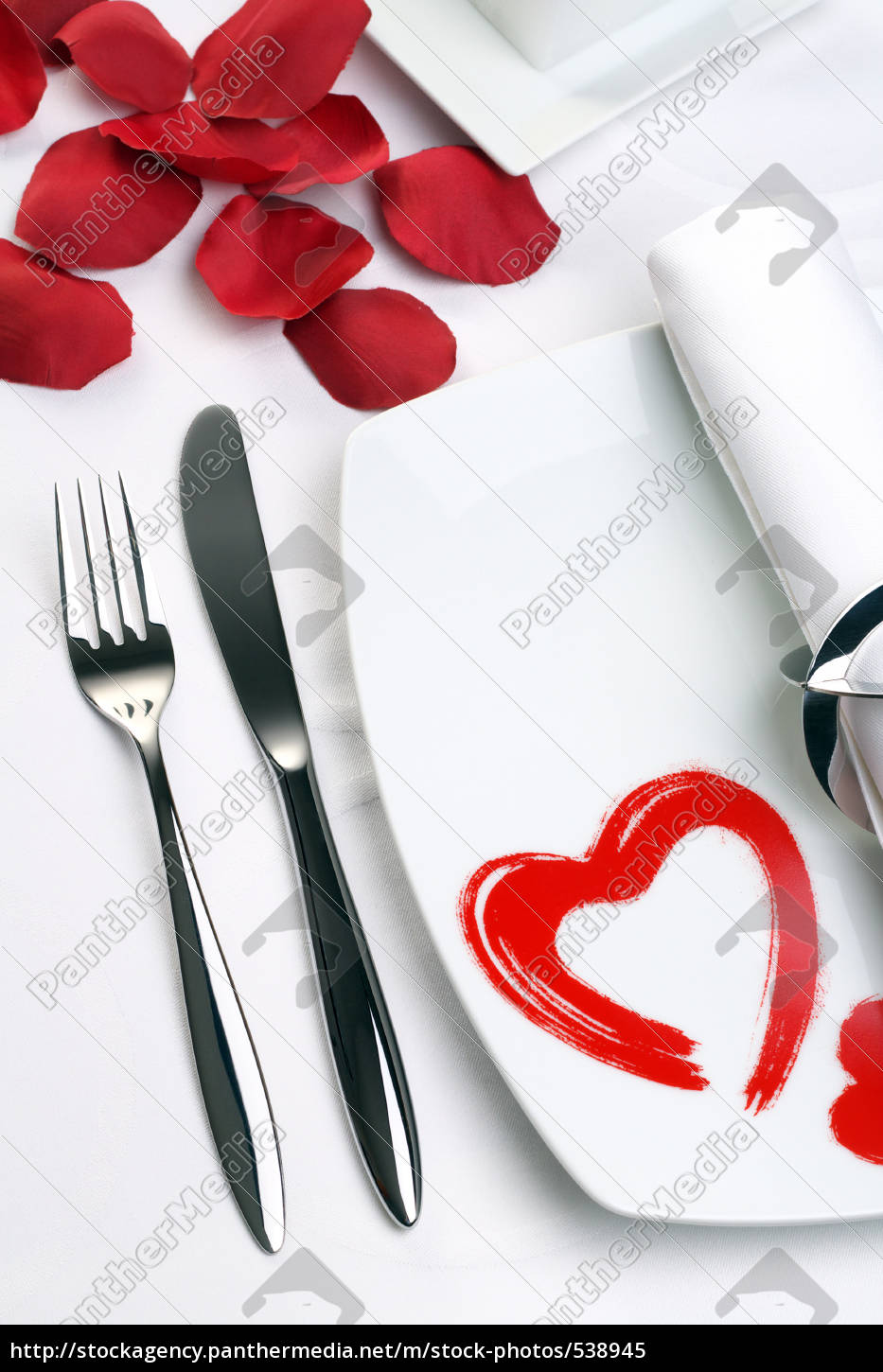 menu, on, valentine's, day - 538945