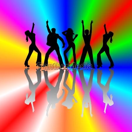 rainbow, dancer - 538482