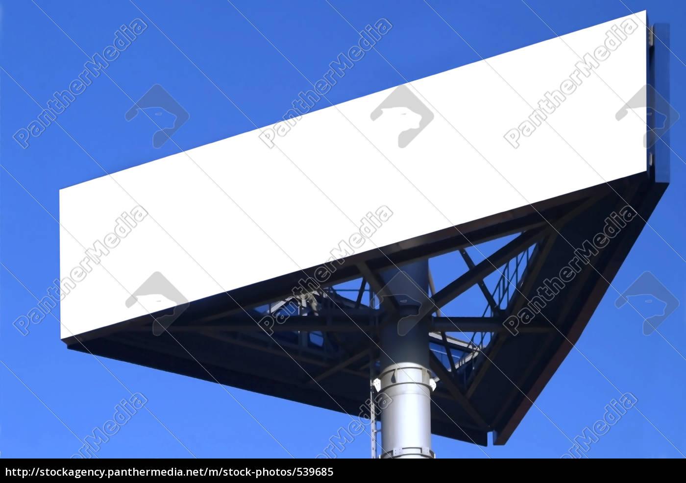 sign, white - 539685