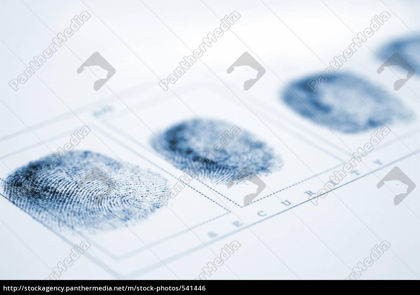 fingerprint - 541446
