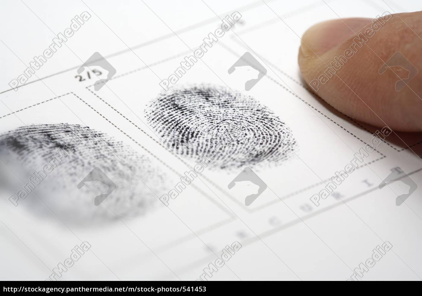fingerprint - 541453