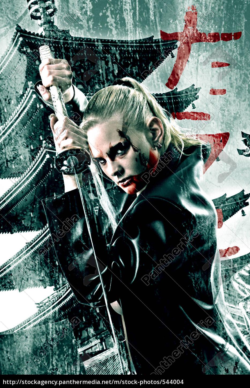 last, samurai, girl - 544004