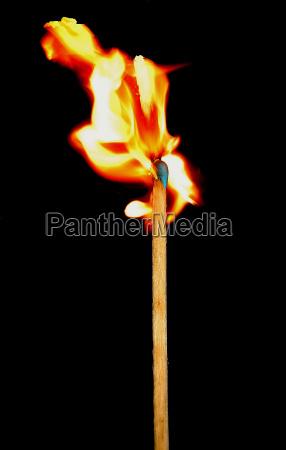 match flame