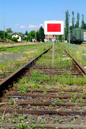 sign signal station traffic transportation rail