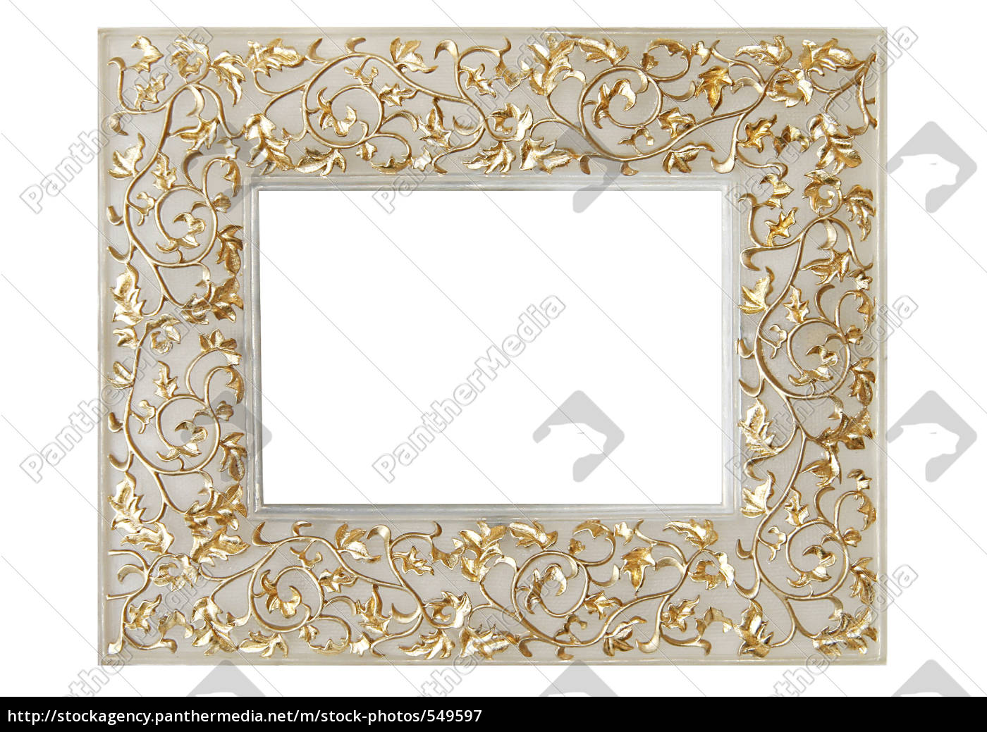bright, picture, frame, with, ornaments - 549597