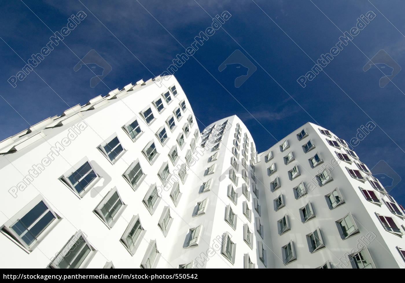 gehry, buildings, in, dusseldorf - 550542