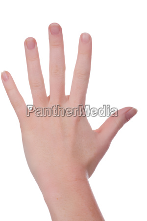 five, fingers - 551465