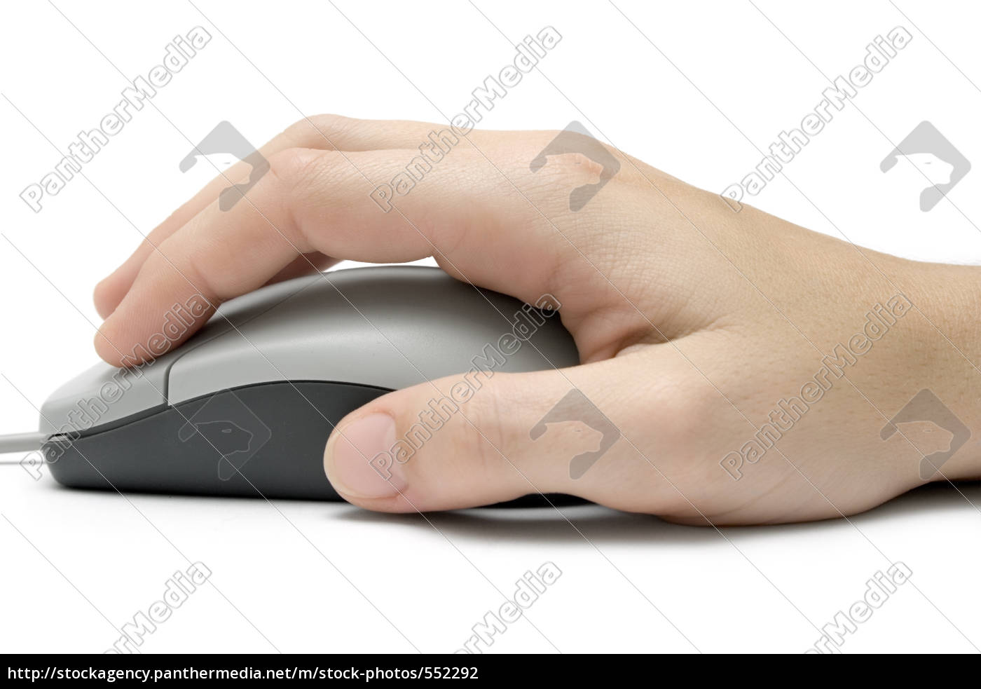 hand, on, computer, mouse - 552292