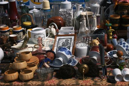 flea, market, stall - 553085