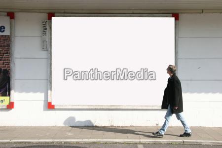 man, with, billboard, 2 - 554451