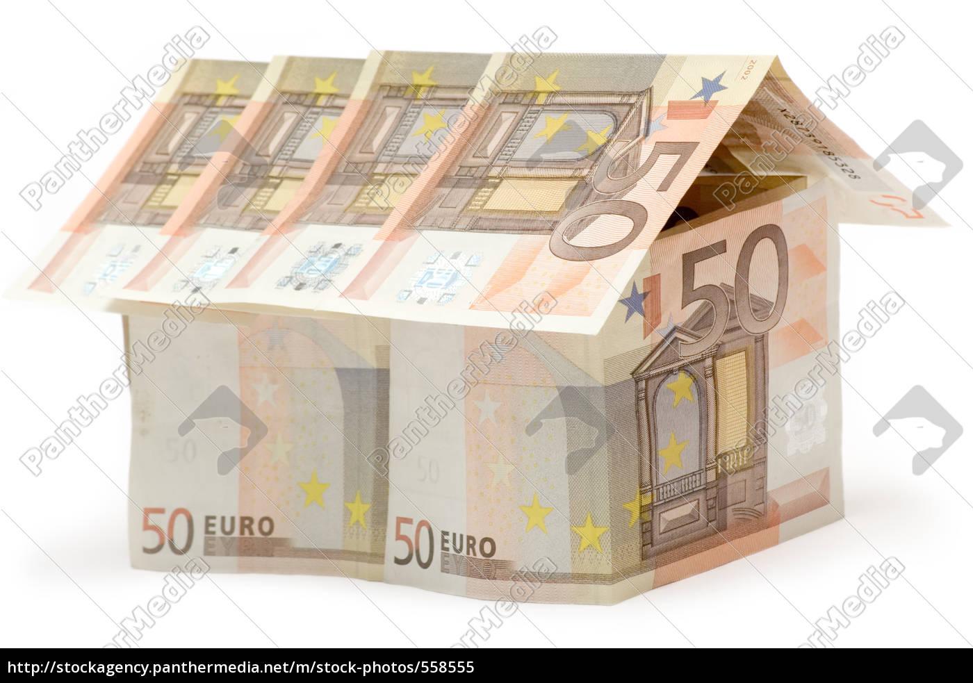 50, euro, house - 558555