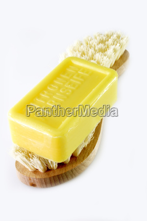 brush, with, soap - 558806