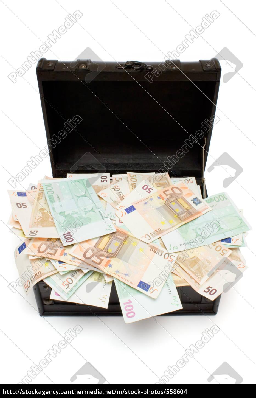 open, treasure, chest - 558604