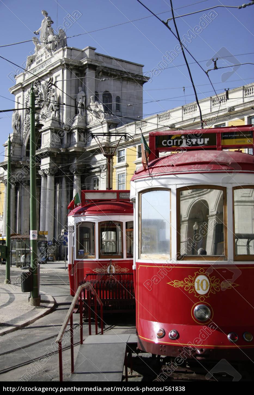 lisbon, trams - 561838