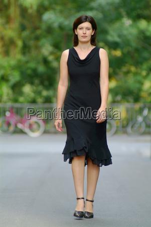 woman walking