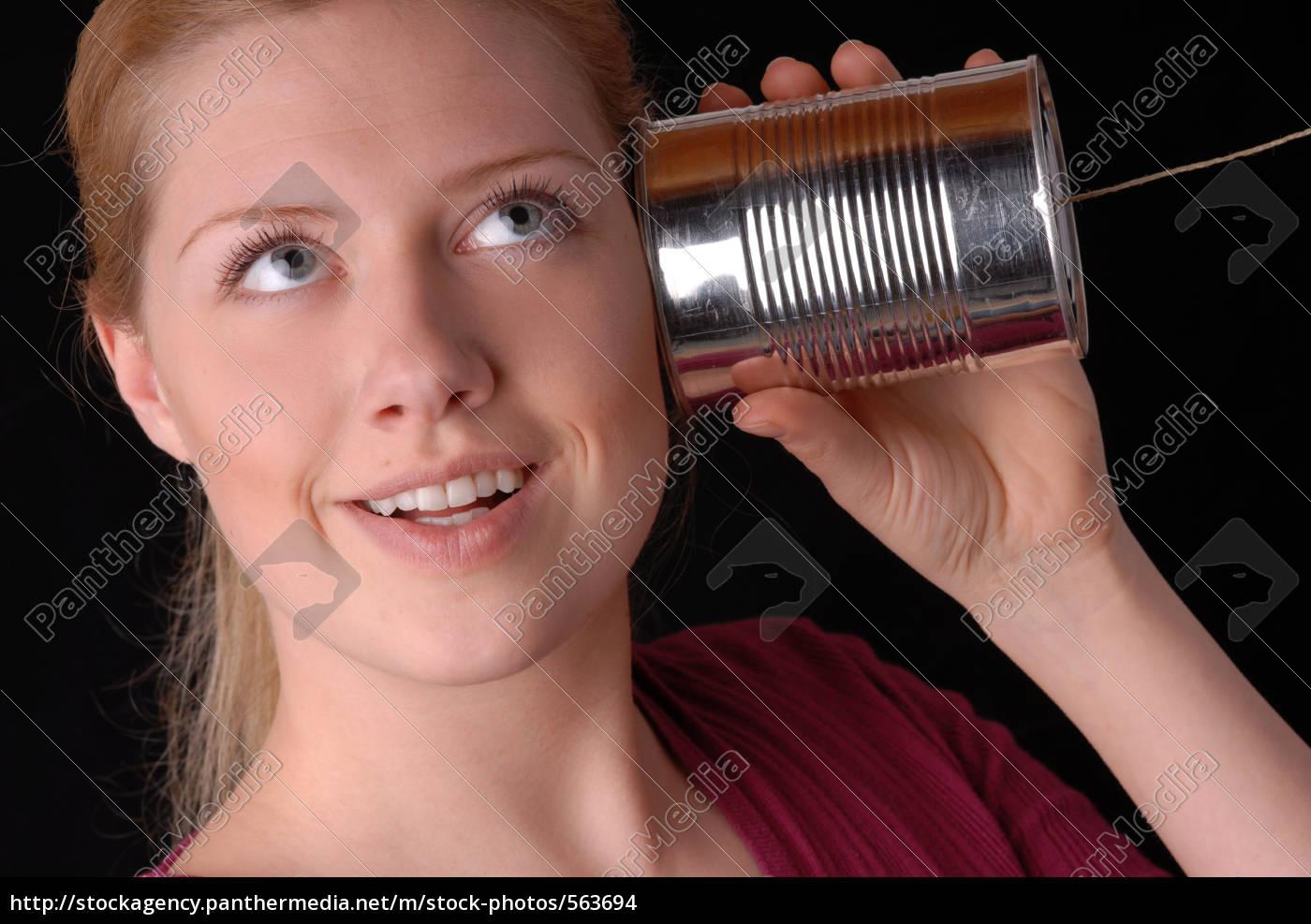 woman, with, dosentelefon - 563694