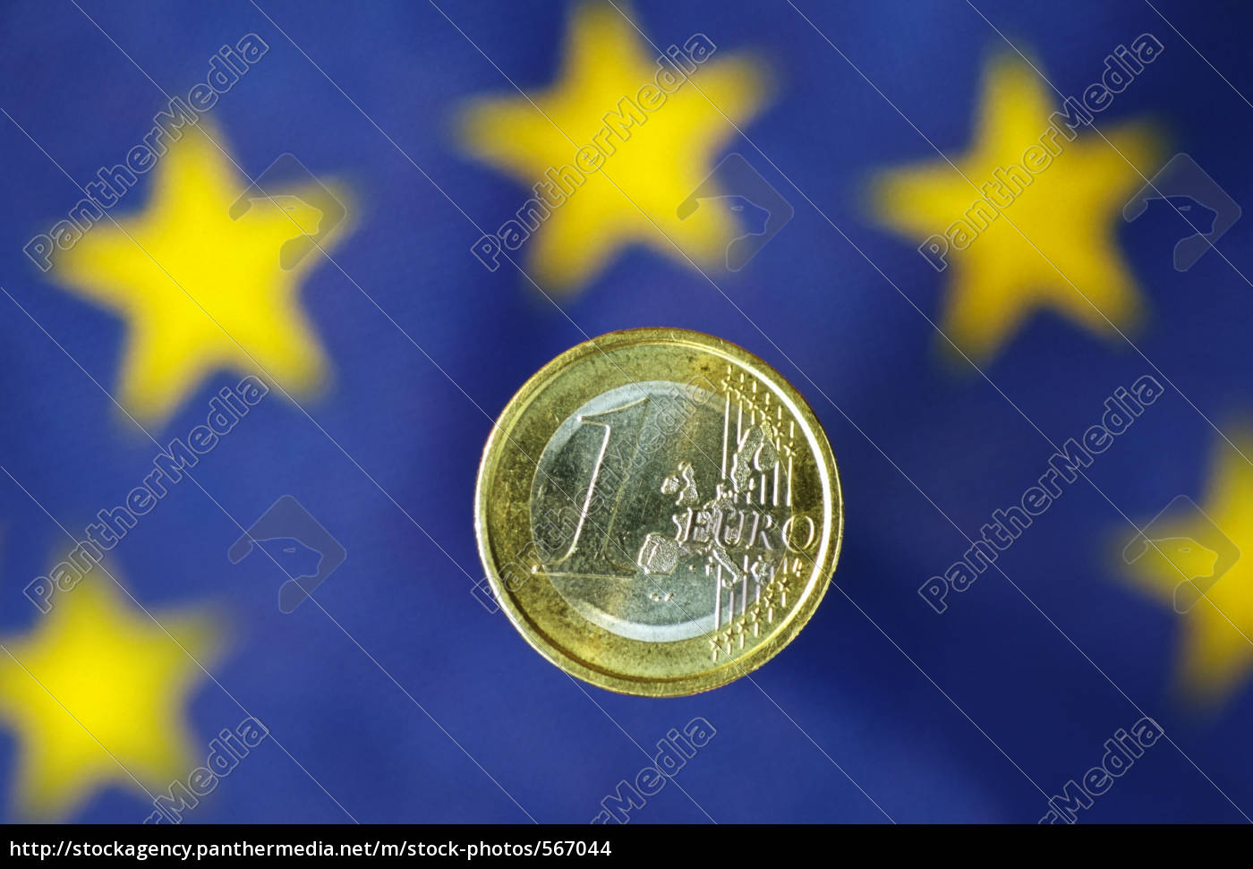 euro, with, eu, flag - 567044